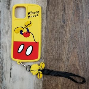 NEW Micky Mouse Silicone i phone 12 case